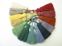 Turkish cotton key tassels cushion blind trim trimming